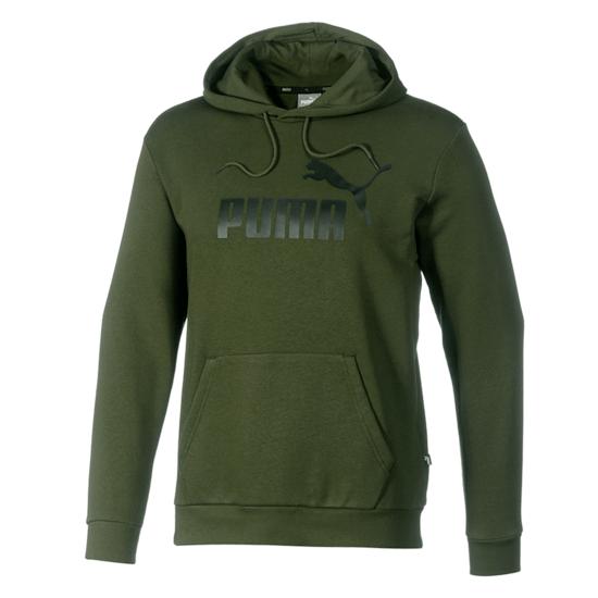 Puma Hoodie TR Big Logo Oliv