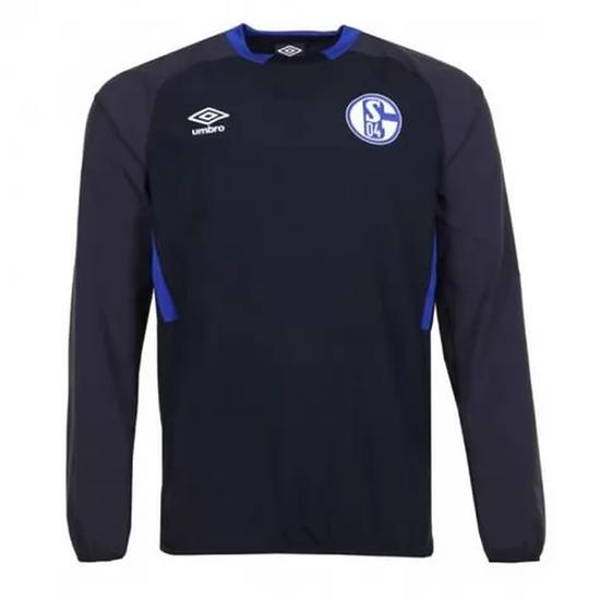 Umbro FC Schalke 04 Drill Top Schwarz