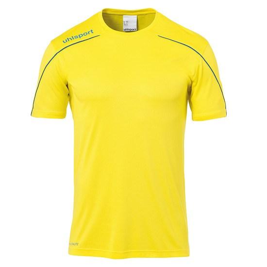 uhlsport Trainingsshirt Stream 22 gelb/blau
