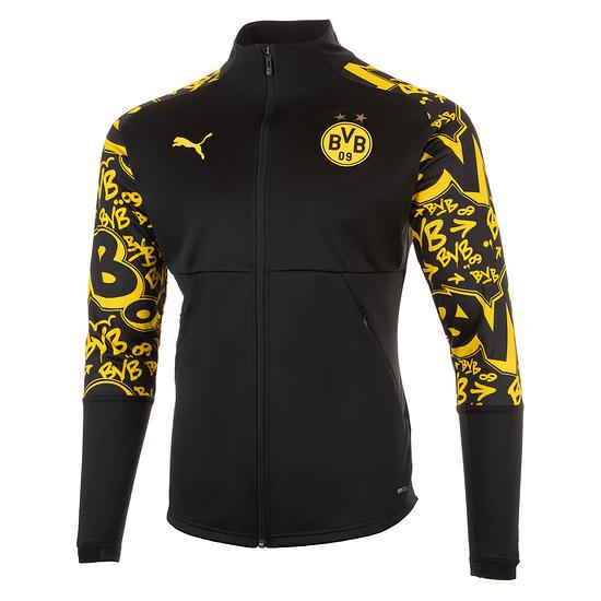 Puma Borussia Dortmund Stadionjacke 2020/2021 Schwarz