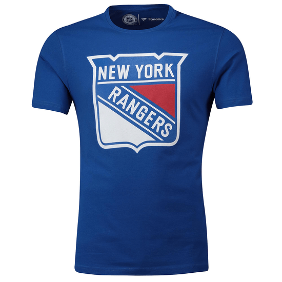 Fanatics New York Rangers T-Shirt Primary Core Graphic royal