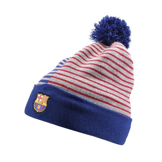 Nike FC Barcelona Beanie Blau/Rot