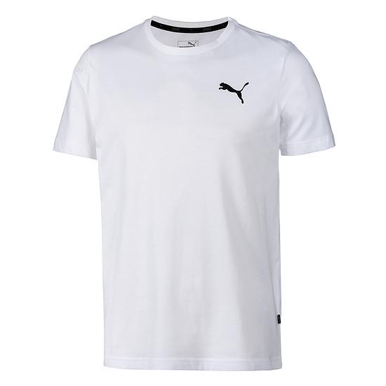 Puma T-Shirt ESS Small Logo weiß