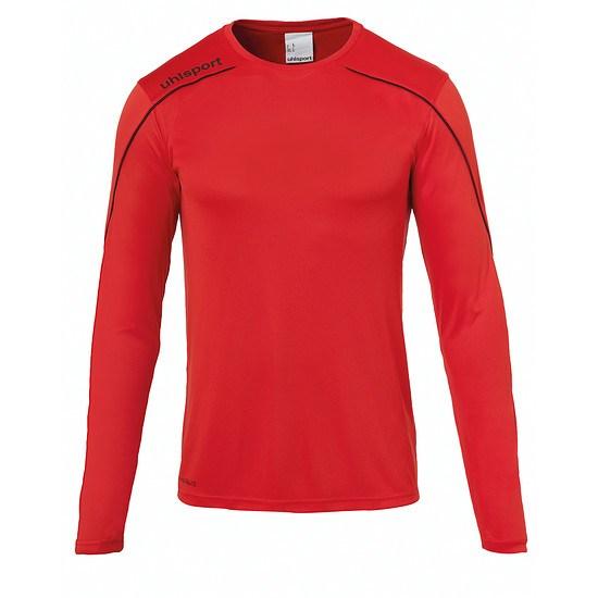 uhlsport Trainingsshirt Langarm Stream 22 rot/schwarz