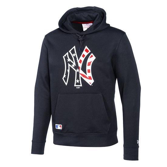 New Era New York Yankees Hoodie Team Print navy