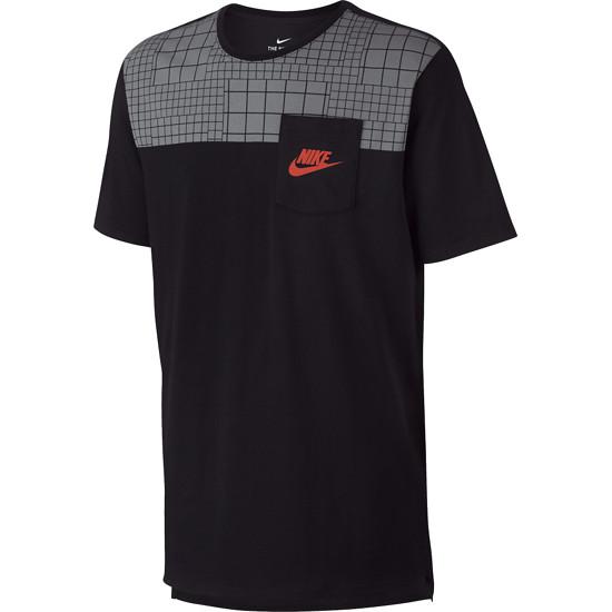 Nike T-Shirt Pocket Schwarz
