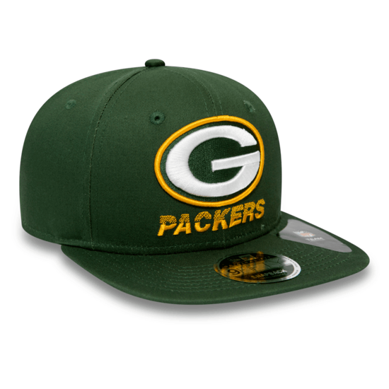 New Era Green Bay Packers Cap Tech Team 9FIFTY grün