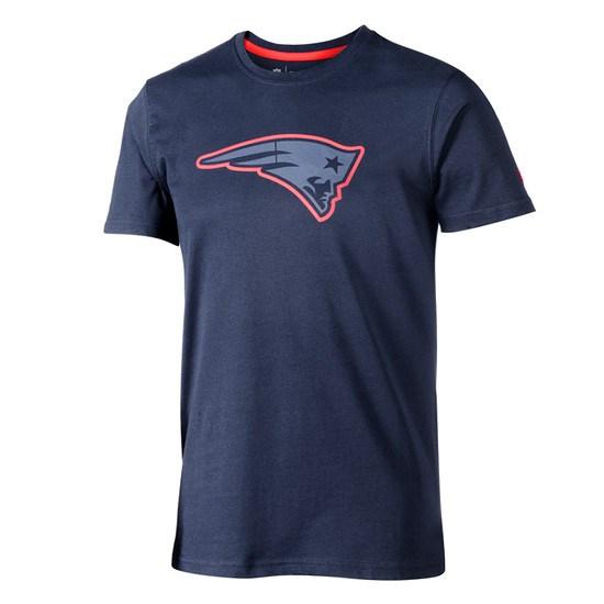 New Era New England Patriots T-Shirt Fan Pack blau