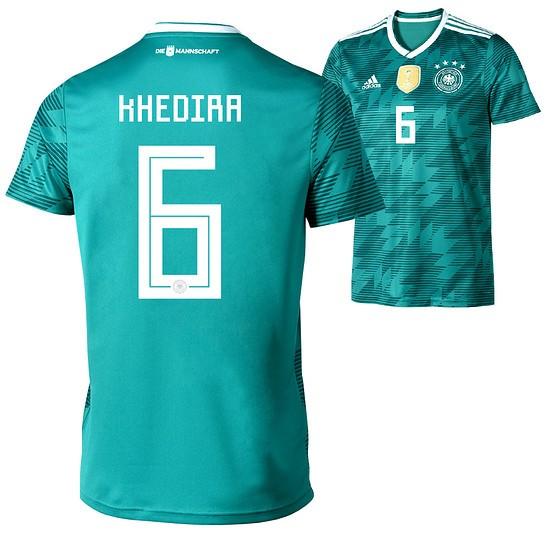 Adidas Deutschland Trikot Auswärts Damen WM 2018 KHEDIRA