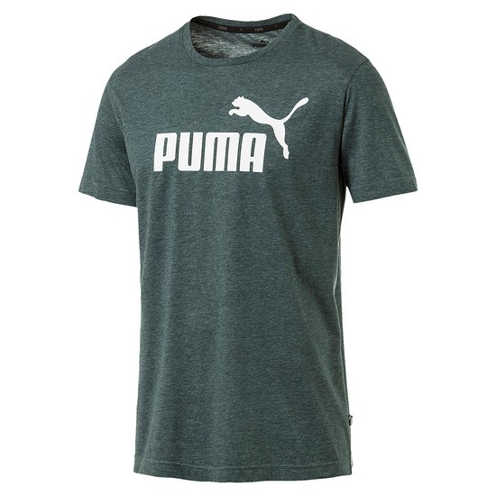 Puma T-Shirt ESS + Grün