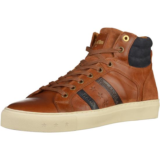 Pantofola d'Oro Leder Sneaker High tortoise shell