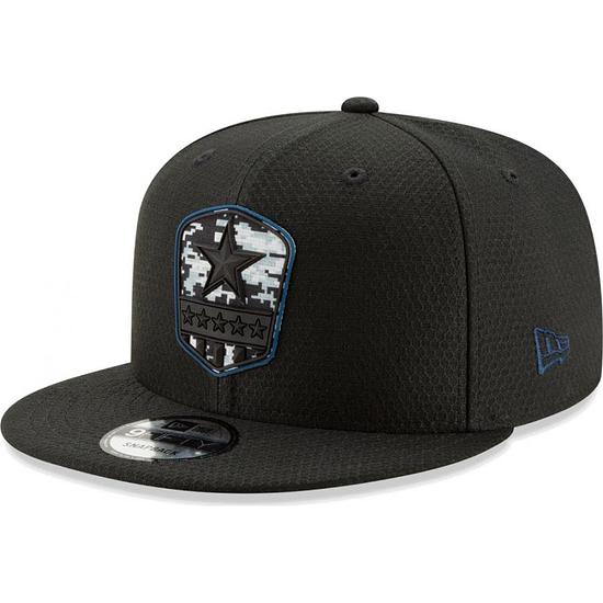 New Era Dallas Cowboys Cap Salute To Service 9FIFTY schwarz