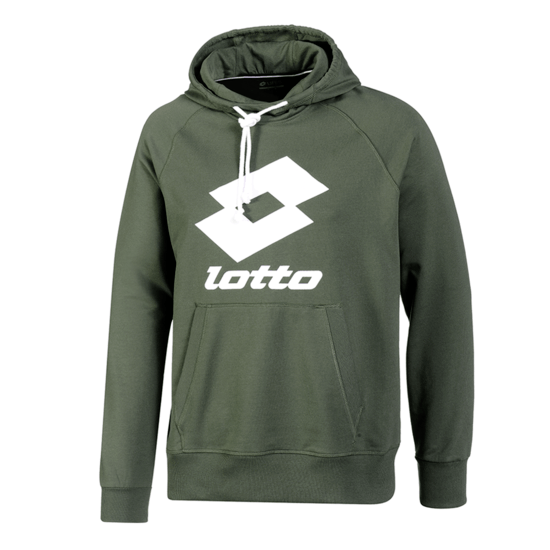 Lotto Hoodie Smart FT LB green resin