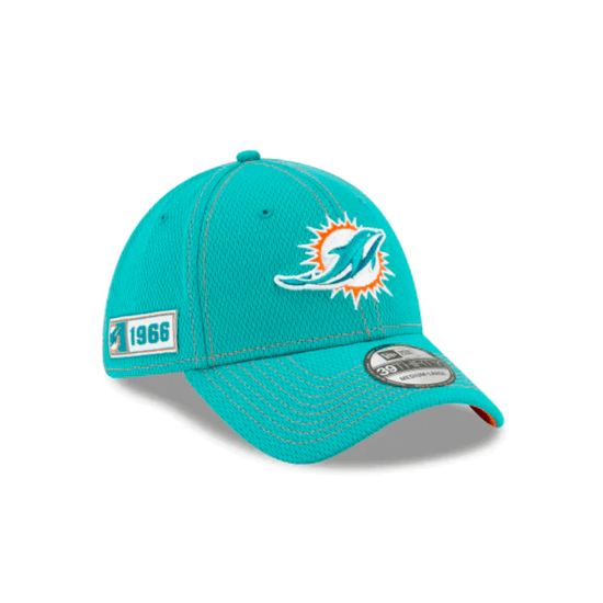 New Era Miami Dolphins Cap On Field 39THIRTY türkis