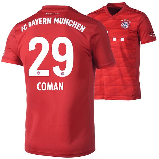 Adidas FC Bayern München Heim Trikot COMAN 2019/2020