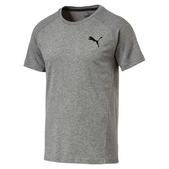 Puma T-Shirt Evostripe Move Grau