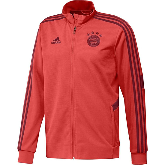 Adidas FC Bayern München Freizeitjacke 2019/2020 Rot