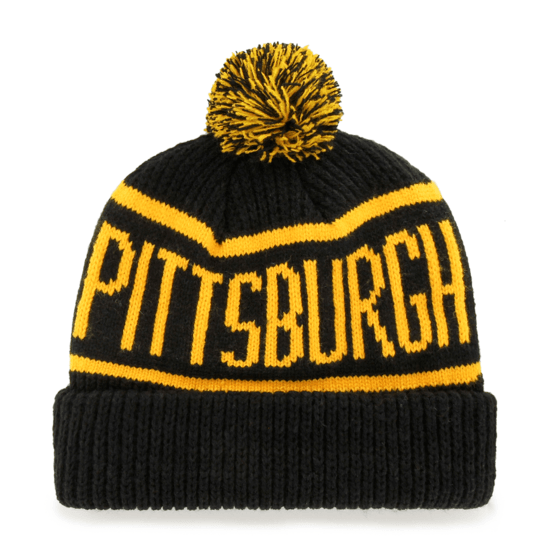 47 Brand Pittsburgh Penguins Beanie Calgary schwarz