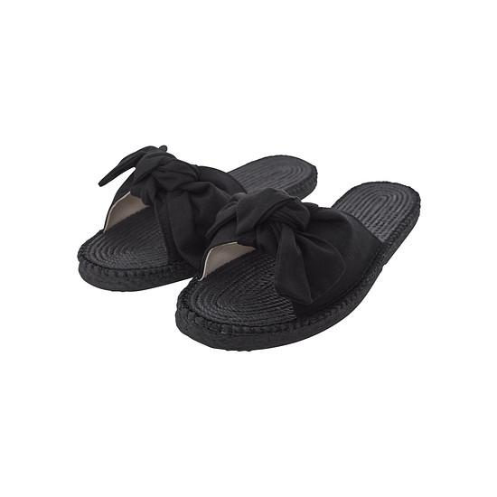 URBAN CLASSICS Sandalette Canvas Mules Damen schwarz