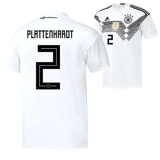 Adidas Deutschland WM 2018 DFB Trikot Heim PLATTENHARDT