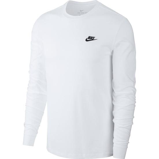 Nike Shirt Langarm Weiß