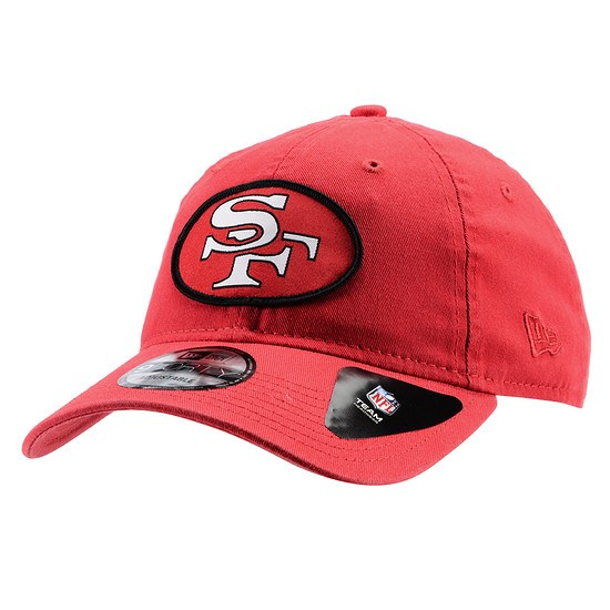New Era San Francisco 49ers Cap Patch 9FORTY rot