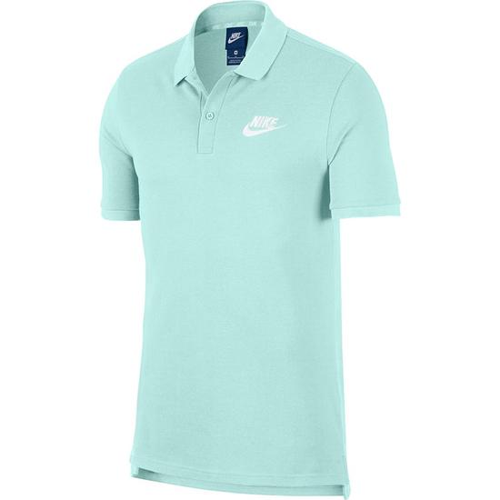 Nike Poloshirt Sportswear Basic Mintgrün