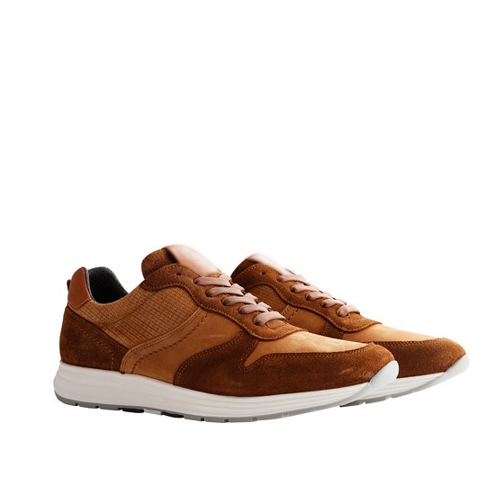 NoGRZ Sneaker M. DeLayens cognac