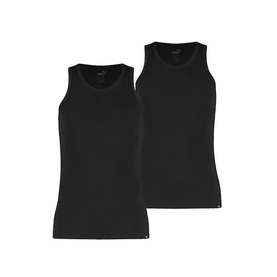 Puma Tank Top 2er Pack Basic Schwarz