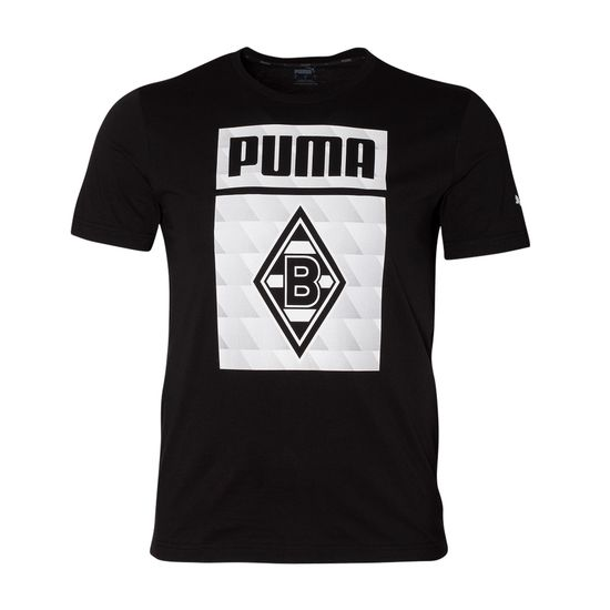 Puma Borussia Mönchengladbach T-Shirt Raute 2020/2021 Schwarz
