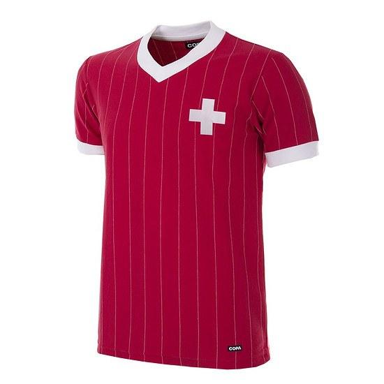 Copa Schweiz 1982 Short Sleeve Retro Shirt