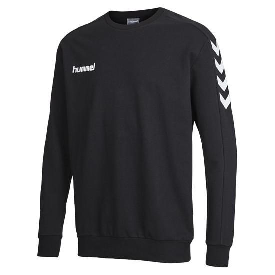 hummel Sweatshirt Core Cotton schwarz