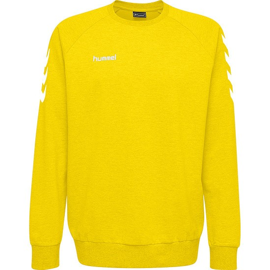 hummel Sweatshirt Cotton gelb