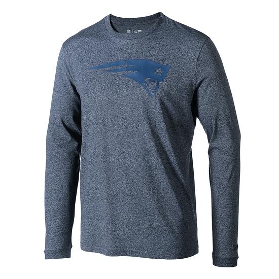 New Era New England Patriots Longsleeve Tonal blau