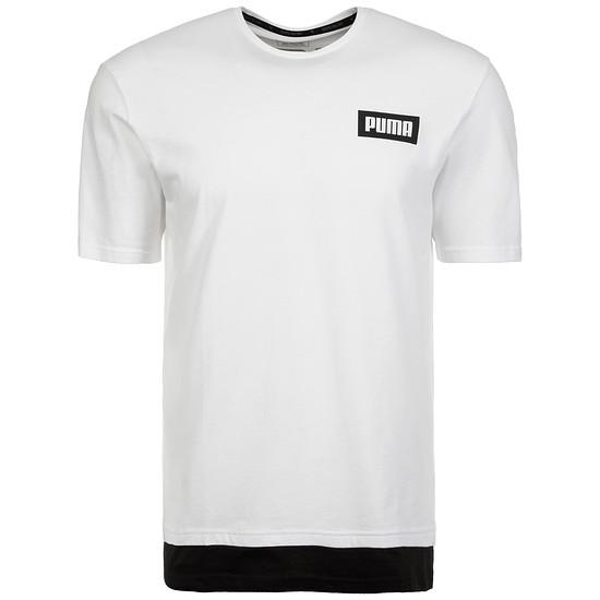 Puma T-Shirt New Rebel Weiß