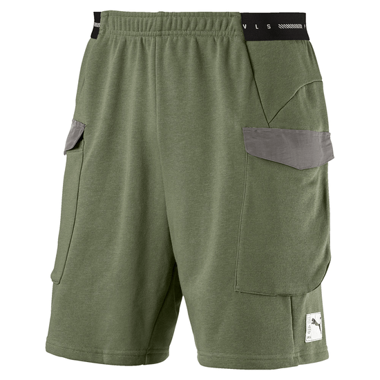 Puma Shorts NEXT Casuals Oliv/Grau