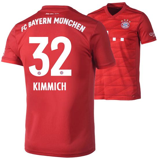 Adidas FC Bayern München Heim Trikot KIMMICH 2019/2020