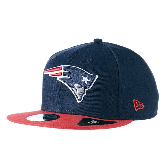 New Era New England Patriots Snapback Team blau/rot