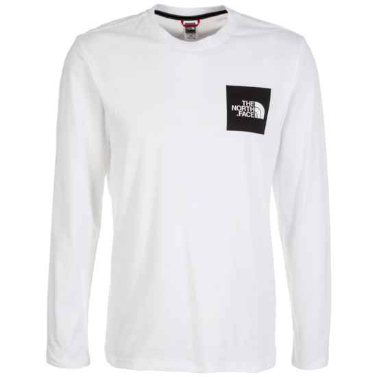 THE NORTH FACE Sweatshirt Fine weiß
