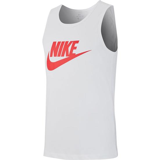 Nike Tanktop Logo Swoosh Weiß