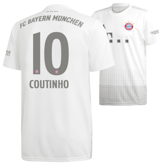 Adidas FC Bayern München Auswärts Trikot COUTINHO 2019/2020