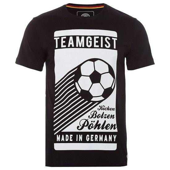 DFB T-Shirt Teamgeist schwarz