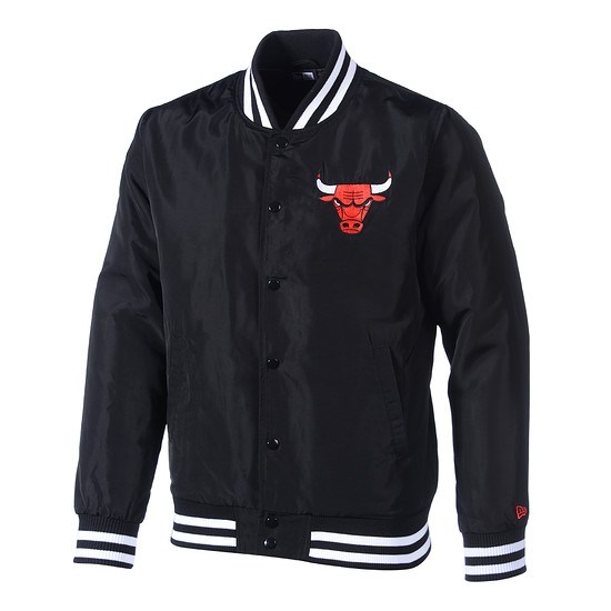 New Era Chicago Bulls Bomberjacke Team schwarz