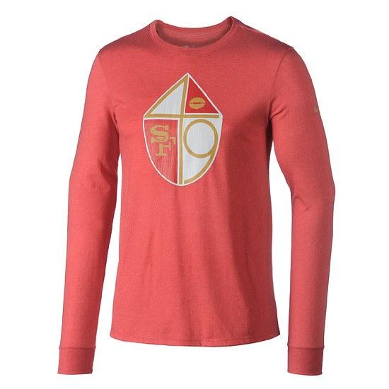 Nike San Francisco 49ers Langarm Shirt HISTORIC Rot
