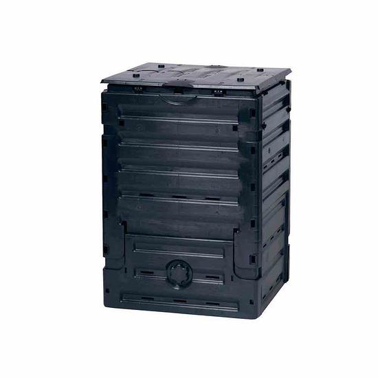 Graf Komposter Eco-Master 60x60x90 cm, 300 Liter anthrazit