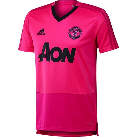 Adidas Manchester United Trainingsshirt Pink