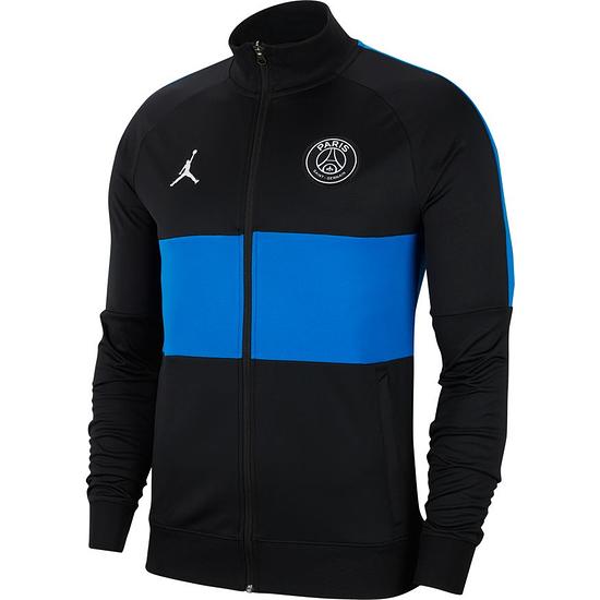 Nike JORDAN Paris Saint-Germain Track Jacket 2020 Schwarz
