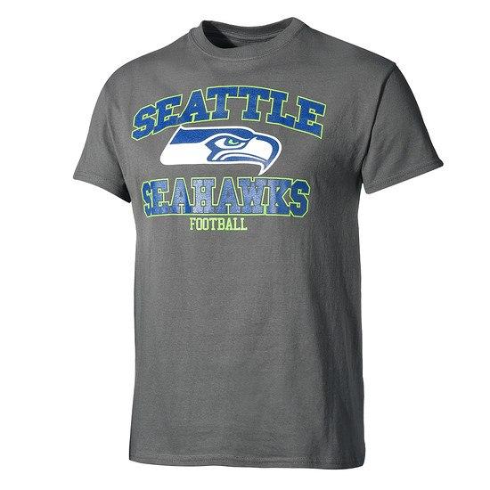 Majestic Athletic Seattle Seahawks T-Shirt Treser dunkelgrau