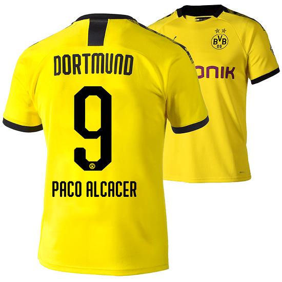 Puma Borussia Dortmund Heim Trikot 2019/2020 PACO ALCACER