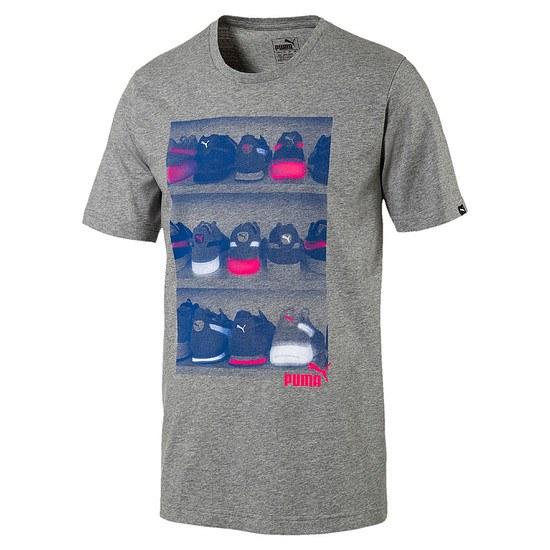 Puma T-Shirt SNEAKER Grau